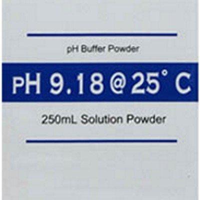 pH Meter Buffer Calibration Solution Powder 9.18 pH Makes 250 mL - Pack of 5