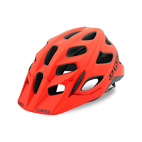 Giro Hex MTB Helmet Matte Vermillion/Flame Medium (55-59 cm)