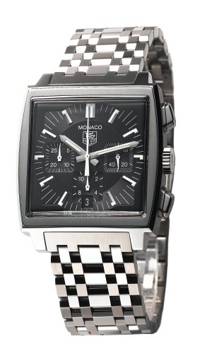 TAG Heuer Men's CW2111.BA0780 Monaco Automatic Chronograph Watch
