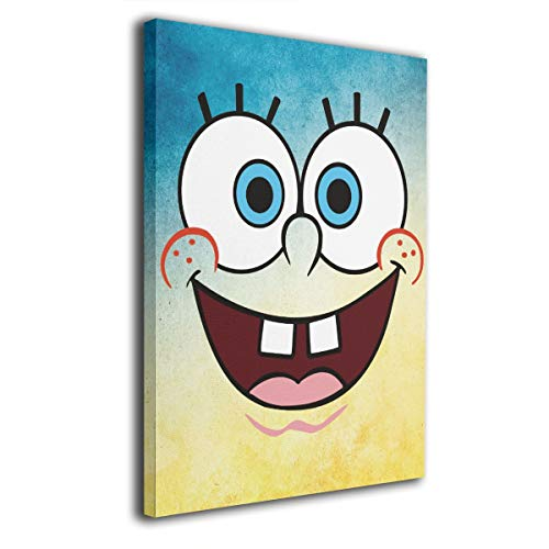 PSnsnX Canvas Wall Art Prints Spongebob Squarepants Photo
