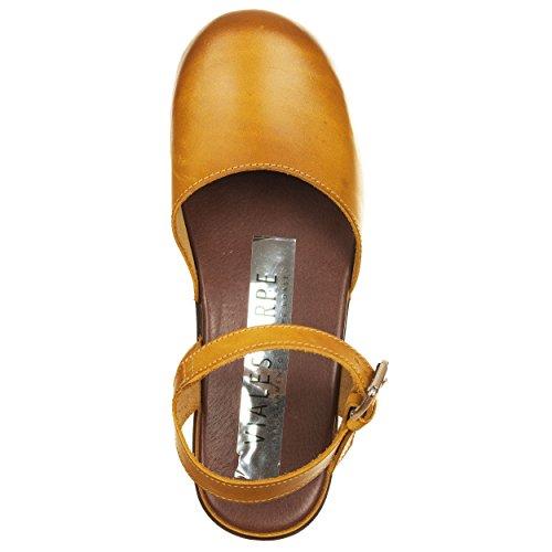 pour Mules Femme VialeScarpe Mules pour Jaune VialeScarpe w0awSI