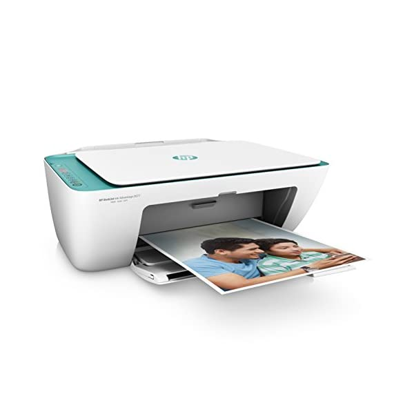 HP DeskJet 2677 All-in-One Printer (White) with Voice-Activated Printing (Works with Alexa and Google Assistant) 4