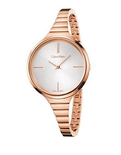 Calvin Klein K4U23626 PVD Rose Gold Bracelet Ladies Watch