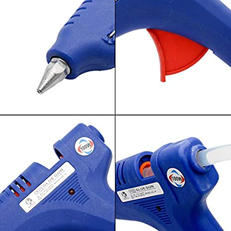 17 Glue Sticks MASO Auto Body Paintless Dent Repair Tool PDR Car Dent Puller Removal Repair Kit Set with 220W Glue Gun 19 Glue Puller for Auto Dent Remover Red