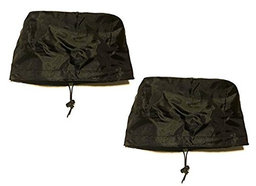 2 Pack Fishfinder, Depth Finder Poly Sun Cover for 5'' Models - Protects Your Screen From Sun/Weather Damage with Drawstring by Westlake Market