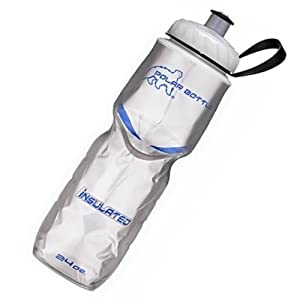 Polar Bottle Platinum BPA Free Water Bottle Insulated 24oz Made In USA