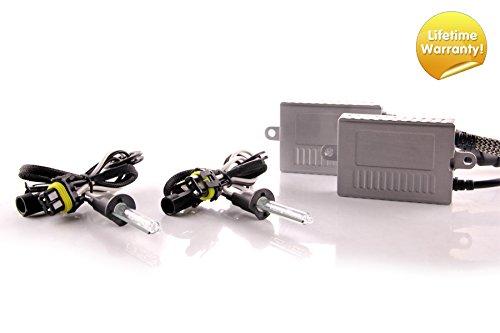 (DDM Tuning Plus 35W Premium HID kit, Slim AC Ballasts w/Hi-Output Bulbs, H1, 6500K)
