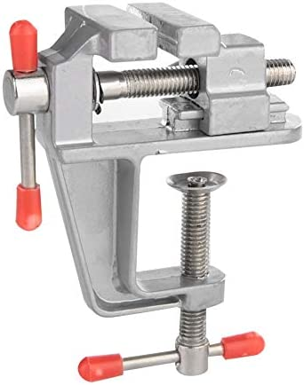 Mini TableBench Vise Univeral Table Bench Clamp Rotate 360 Degrees Universal Tabletop Vise Machine for Small Work Crafts Arts Finishing Jewelry DIY Repair Tools / Mini TableBench Vise Univeral Table Bench Clamp Rotate 360 Degrees U...