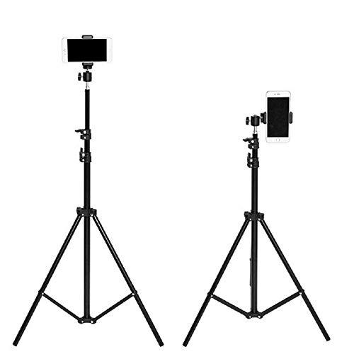 Parkflic Tripod Stand S25 Tripod for Mobile Phone, Camera, DSLR, Monopod for Vlog, TikTok, Musically, Facebook, Vigo, Travel (71 Inch Tripod)