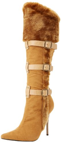 Funtasma Women's Viking 102 TMF Knee-High Boot,Tan Microfiber/Polyurethane,9 M US