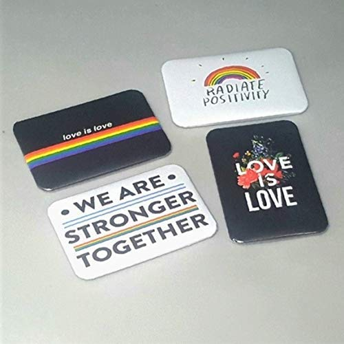 Gay Pride Magnet Set Of 4 2