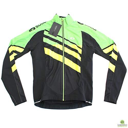 (Sugoi Men's RS Zero Long Sleeve Jersey, Small, Berserker Green/Super)
