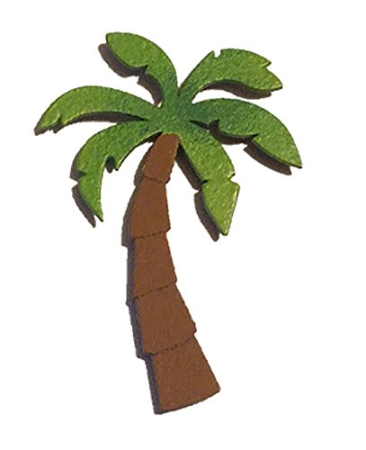 Palm Tree Refrigerator Magnet - Embellish Your Story 2.25