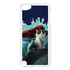 Cute Grumpy Cat Cartoon Hardshell Cover Case for iPod Touch 5, 5G (5th Generation)
