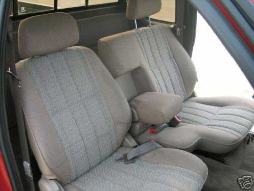 Durafit Seat Covers T772-C8 Toyota Tacoma 60/40 Split Bench Custom Seat Covers. Gray Endura