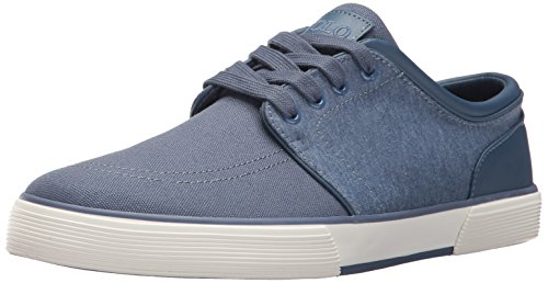 Polo Ralph Lauren Men's Faxon Low-Canvas/Jrsy Hthr Sneaker