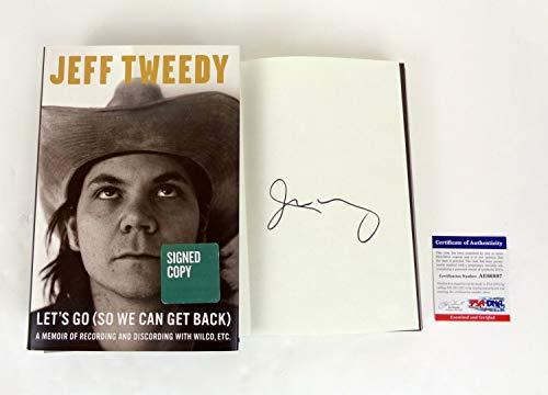 Jeff Tweedy Wilco Autographed Signed Memorabilia Let