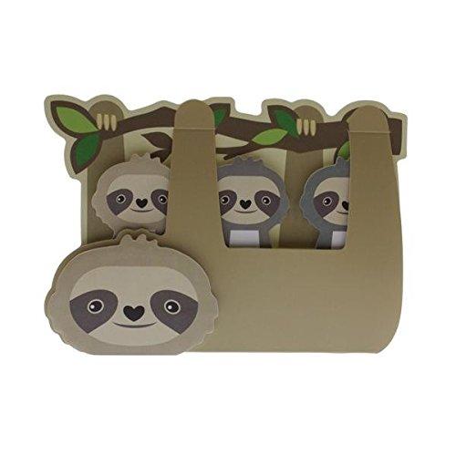 Streamline Sloth - Sticky Memo Tab Set