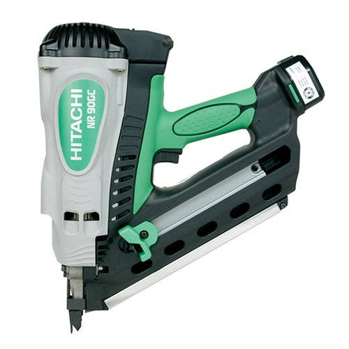 Hitachi NR90GC Clipped Head 2-Inch to 3-1/2-Inch Cordless Gas Framing Nailer  (Discontinued by Manufacturer)