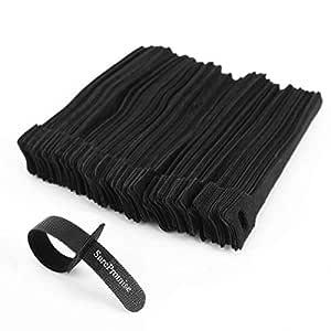 SurePromise kabelband, svart, 2.5 cm