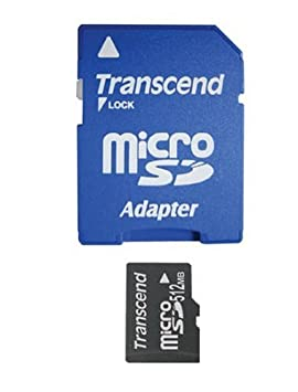 Transcend 512 MB microSD Memory Card memoria flash 0,5 GB ...