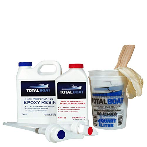 TotalBoat High Performance Epoxy Kits (Quart, Medium) ()