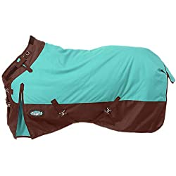 Tough-1 Blanket Turnout 1200D Adjust Snuggit 72 Turquoise 32-2120S