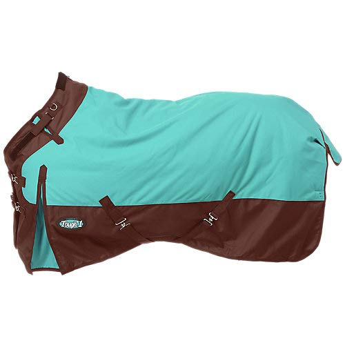 Tough 1 1200D Snuggit Turnout 300g 75In Turquoise by Tough 1