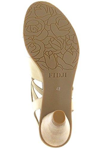 Grande Taille femme Fidji beige Chaussures mules En Matelas UBPgaqA
