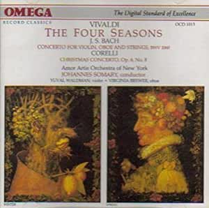 Vivaldi: The Four Seasons/Bach: Concerto in C minor for Violin, Oboe and Strings/Corelli: Christmas Concerto