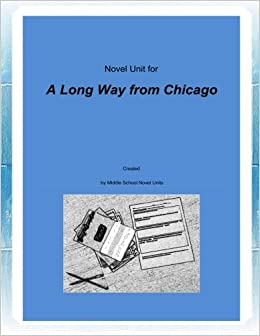 Amazon.com: Novel Unit for A Long Way from Chicago ...