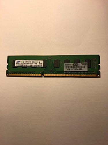 - Samsung 2GB DDR3 SDRAM Memory 240pin PC3-10600U 1333MHz M378B5673FH0-CH9