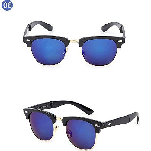 Clubmaster Sol Wayfarer F Retro Gafas Hombre STRIR Mujer de qfpn7HxSx