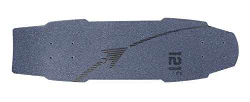 121C Boards Orbiter Carbon Fiber Cruiser Skateboard (Pure Carbon, Deck Only)