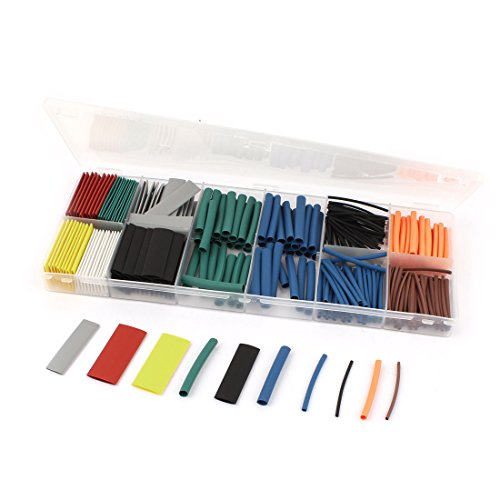 Uxcell Shrink Assortment Tubing Sleeving