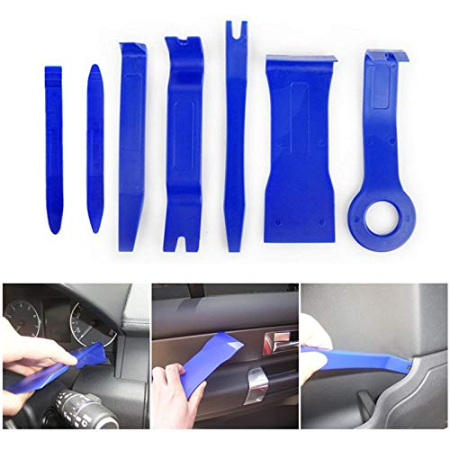 VINAGALA: 7Pcs Tool Set Plastic Car Repair Tool Voiture Inside Door Plank Lever Auto Door Removal Tools Car Stereo Disassembly Tool Kit