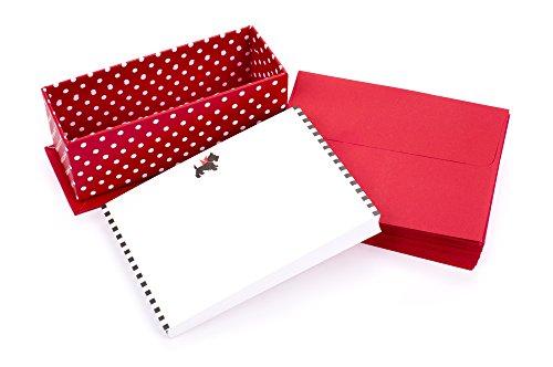 Hallmark Blank Note Cards with Envelopes, Scotty Dog (Stationery Box Set of 50 Blank Cards)