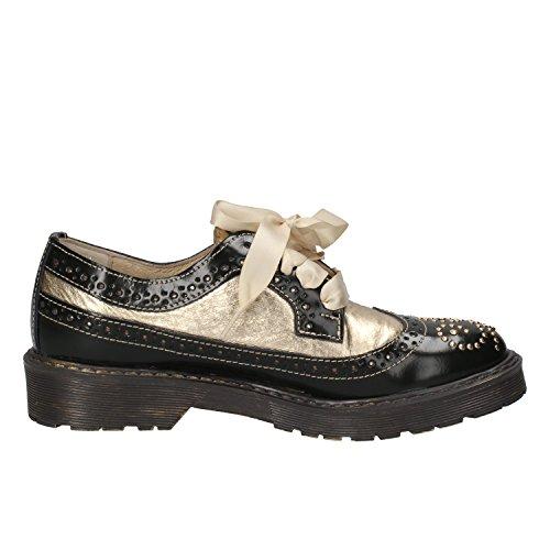 BEVERLY HILLS POLO CLUB - Zapatos de cordones para mujer Verde/Oro