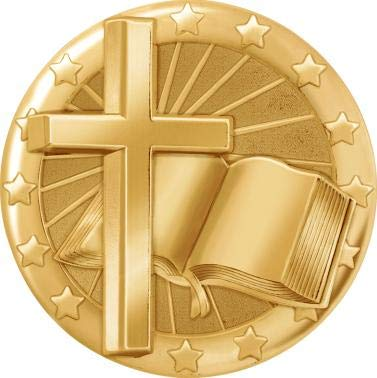 Religious Cross Pins, Gold Cross Pins for Religious Cross Lapel Pins 1 Pack ()