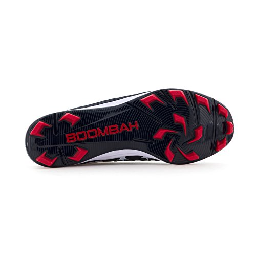 9b6e8601a87 Boombah Men s Squadron Flag 2.0 Molded Cleats Navy Red White - - Import It  All
