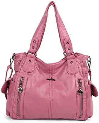 40224ce67840 Shopping Leather - Clear or Pinks - Hobo Bags - Handbags & Wallets ...