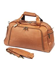 Claire Chase Weekender Duffel, Saddle, One Size