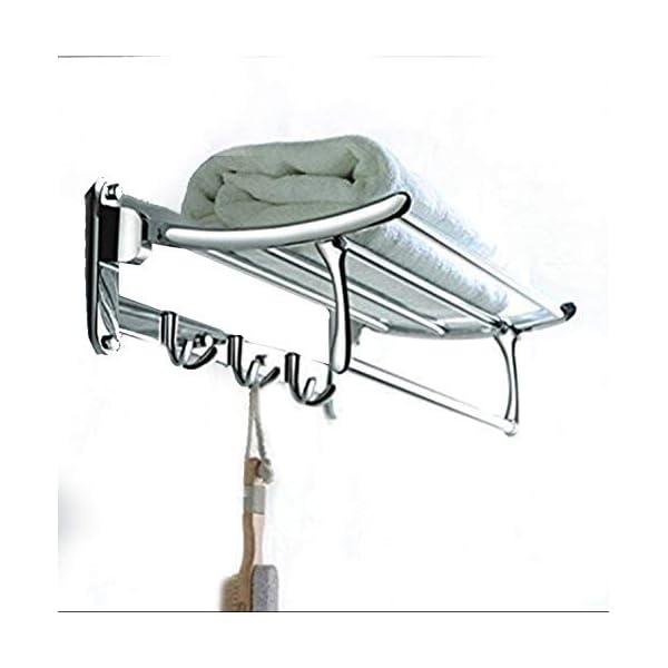 Best Platinum Steel Folding Towel for Bathroom India 2021