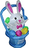 4 ft. Airblown Happy Easter Bunny Inflatable - Yard Decoration