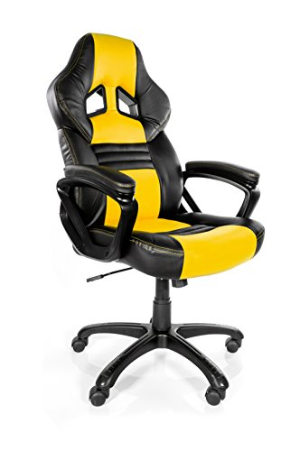 414FDW3rVbL - Arozzi-Monza-Series-Gaming-Racing-Style-Swivel-Chair-RedBlack