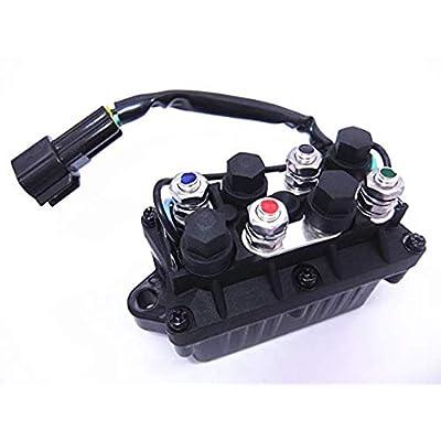 Yamaha 61A-81950-00-00 Relay Assembly; New # 61A-81950-01-00 Made by Yamaha: Automotive