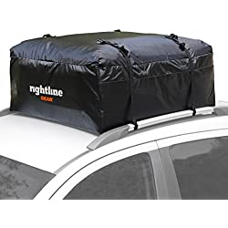 Rightline Gear 100A10 Ace 1 Car Top Carrier, 12 cu ft, Weatherproof, Attaches With or Without Roof Rack