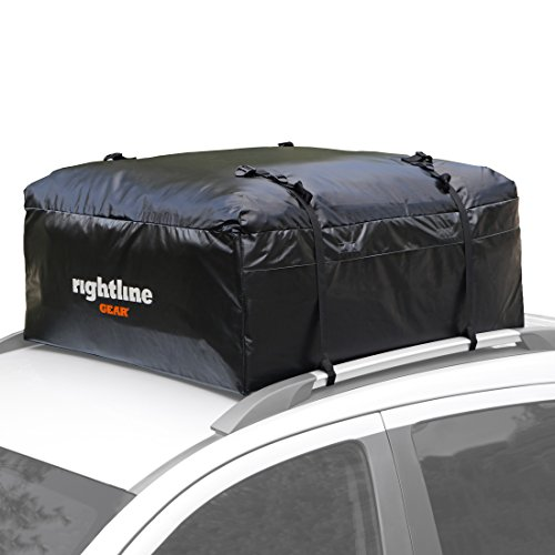 Rightline Gear 100A10 Ace 1 Car Top Carrier, 12 cu ft, Weatherproof, Attaches With or Without Roof Rack (Sidekick Roof)