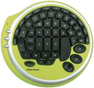 Wolfking Game Pad (Warrior Key Pad - Green)