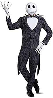 Disney Men's Jack Skellington Prestige Adult Cos